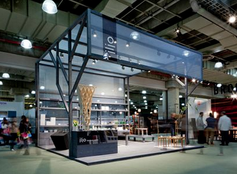 Expo Exhibition Stands Tall : Tall glass overhang expo booth awesome booths