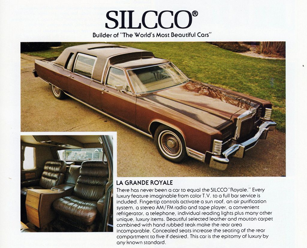 1977 Lincoln Continental Town Car La Grande Royale
