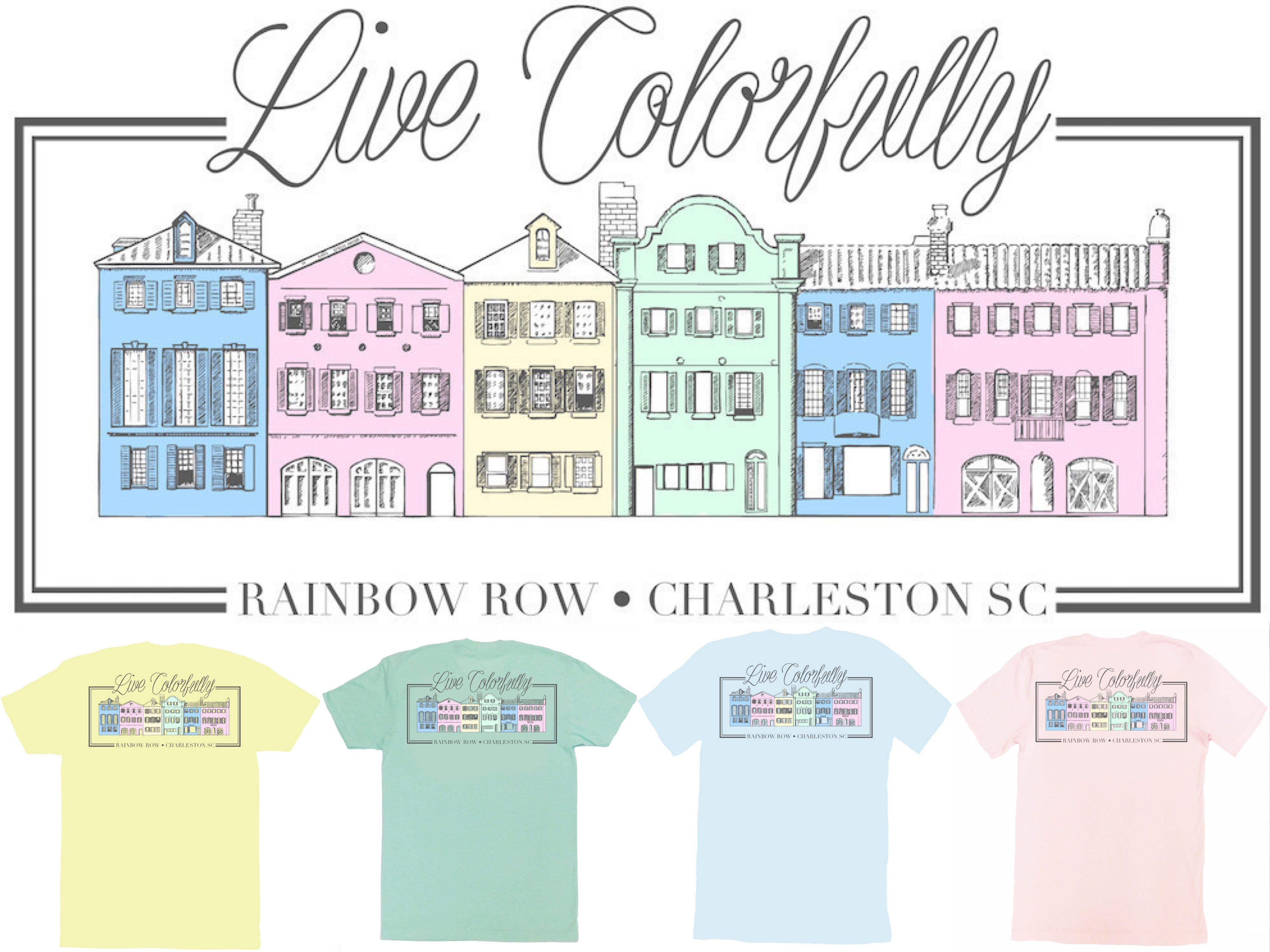 Spring is the best time of the year! The weather is gets warmer & the colors get brighter! This 'Live Colorfully' Spring United Tee is available in 4 colors for ladies who want to Live the American Dream.
