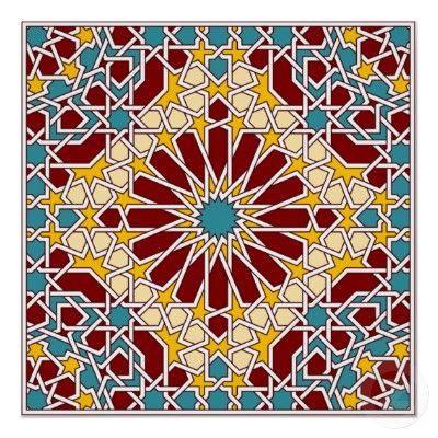 Moorish Tile Poster 29 90