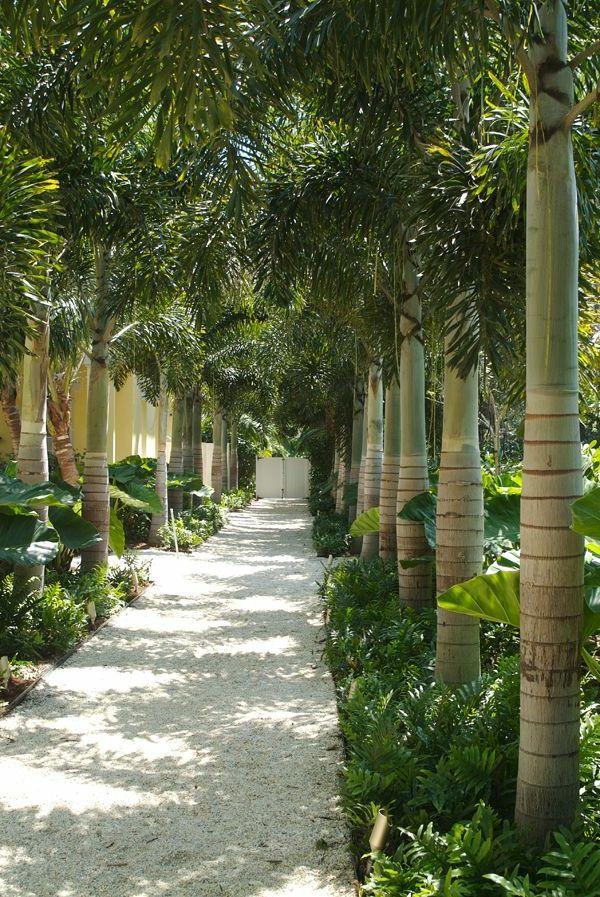 idée créative pour votre jardin avec gravier pour allée | Espace ...