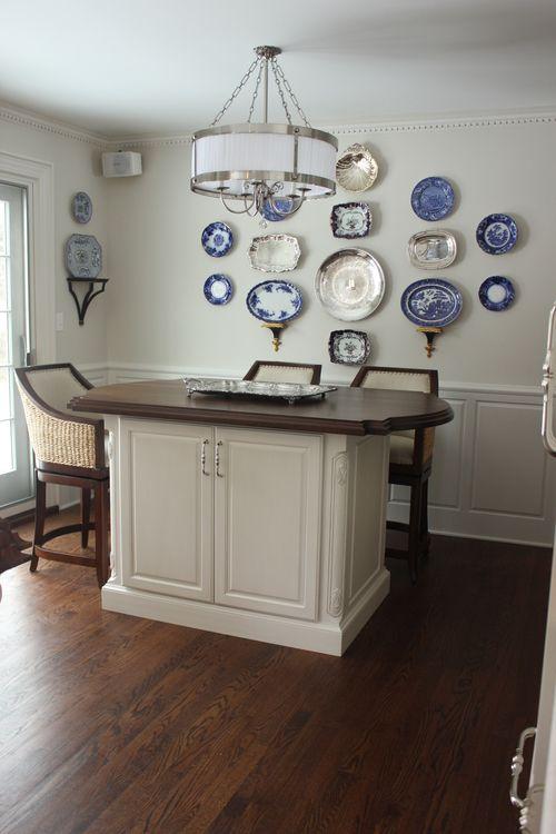 White w/ Glaze Kitchen 8