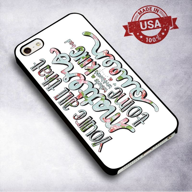 Awesome Justin Bieber Lyrics - For iPhone 4/ 4S/ 5/ 5S/ 5SE/ 5C/ 6/ 6S/ 6 PLUS/ 6S PLUS/ 7/ 7 PLUS Case And Samsung Galaxy Case