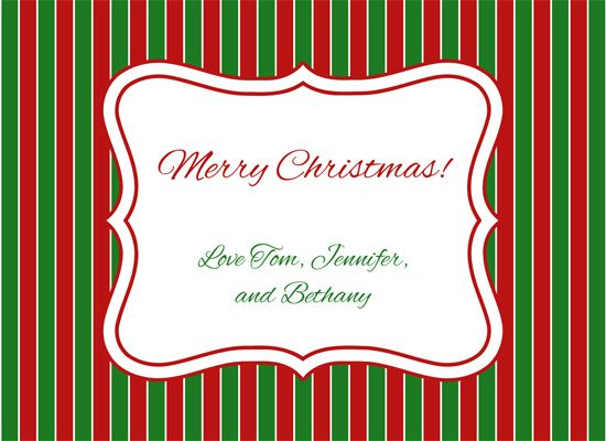 Christmas Card Template  Google