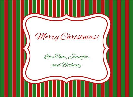 Christmas Card Template   Google 検索