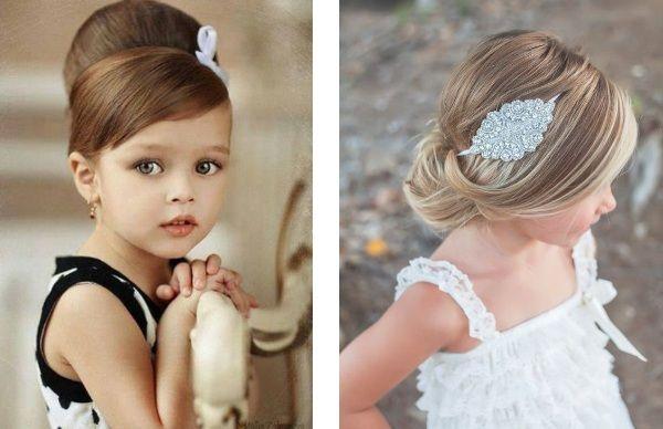 Coiffure enfant mariage en 2020 Coiffure fillette