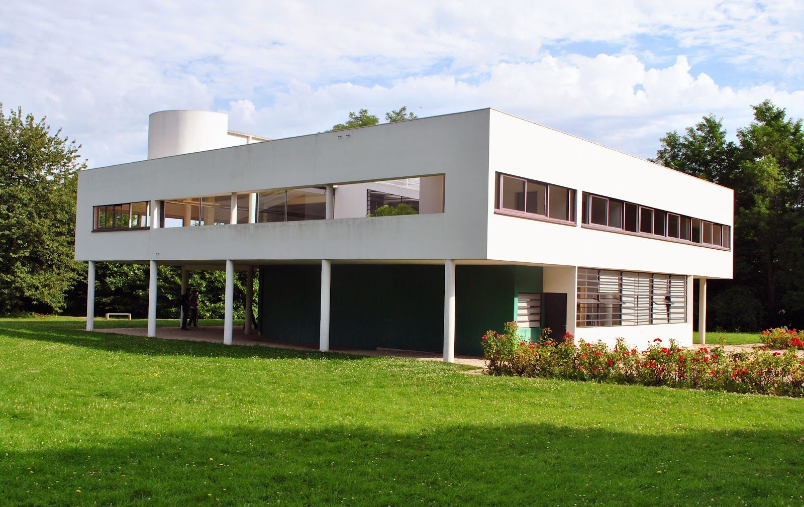 Villa savoye le corbusier pinterest le corbusier villas and pierre jea - Le corbusier villa savoye ...