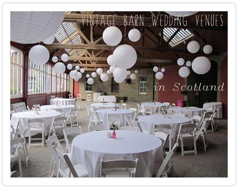 Vintage Barn Wedding Venues in Scotland | Wedding venues ...