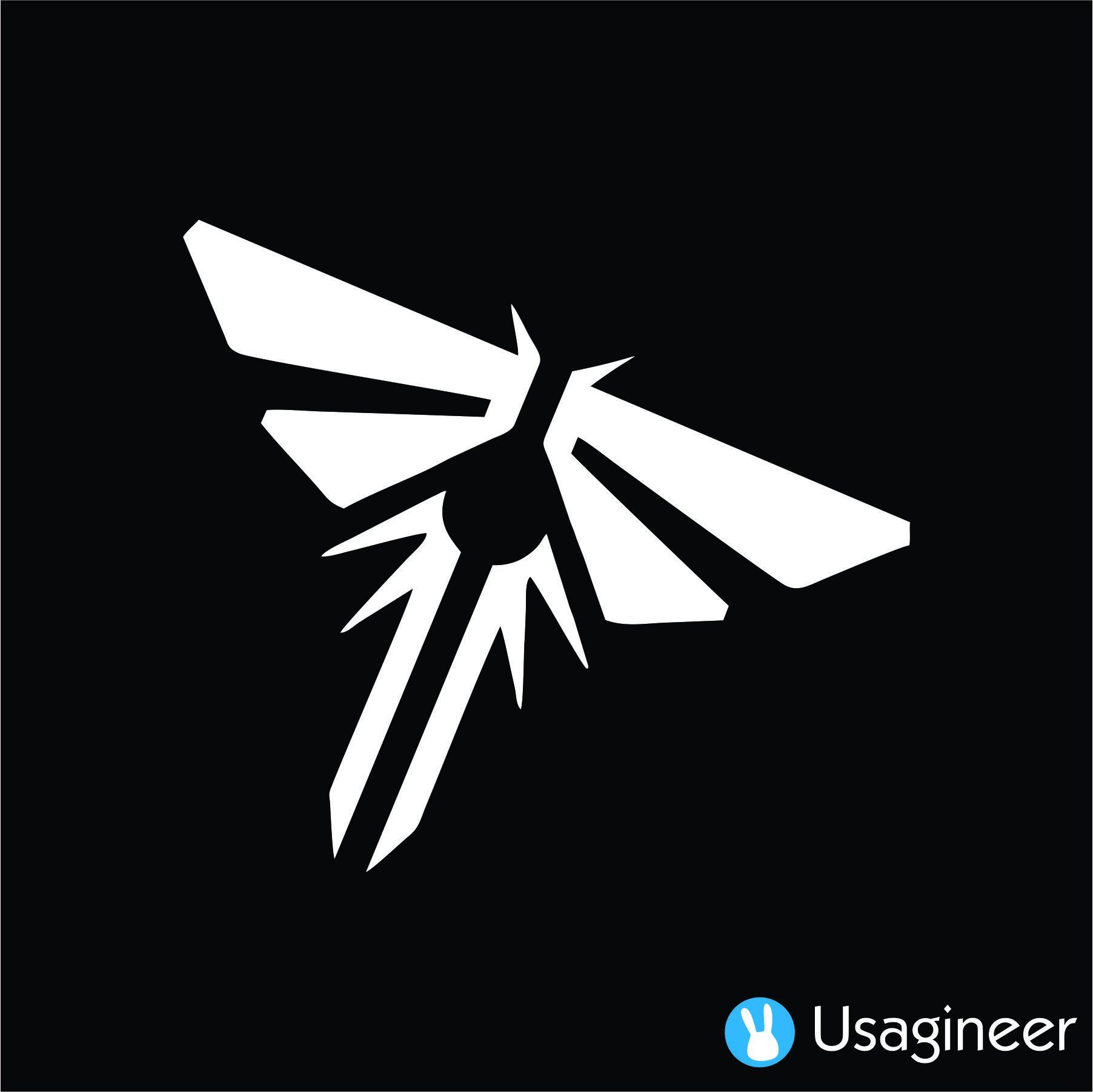 The Last Of Us Firefly Anime Decal Sticker Tattoo Fireflies Anime Logos Decals