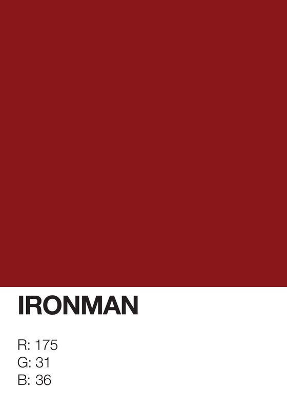 Pantone Superheroes The Edge Of Minimalistic Poster Design Posters Pinterest Color And Paint Colors