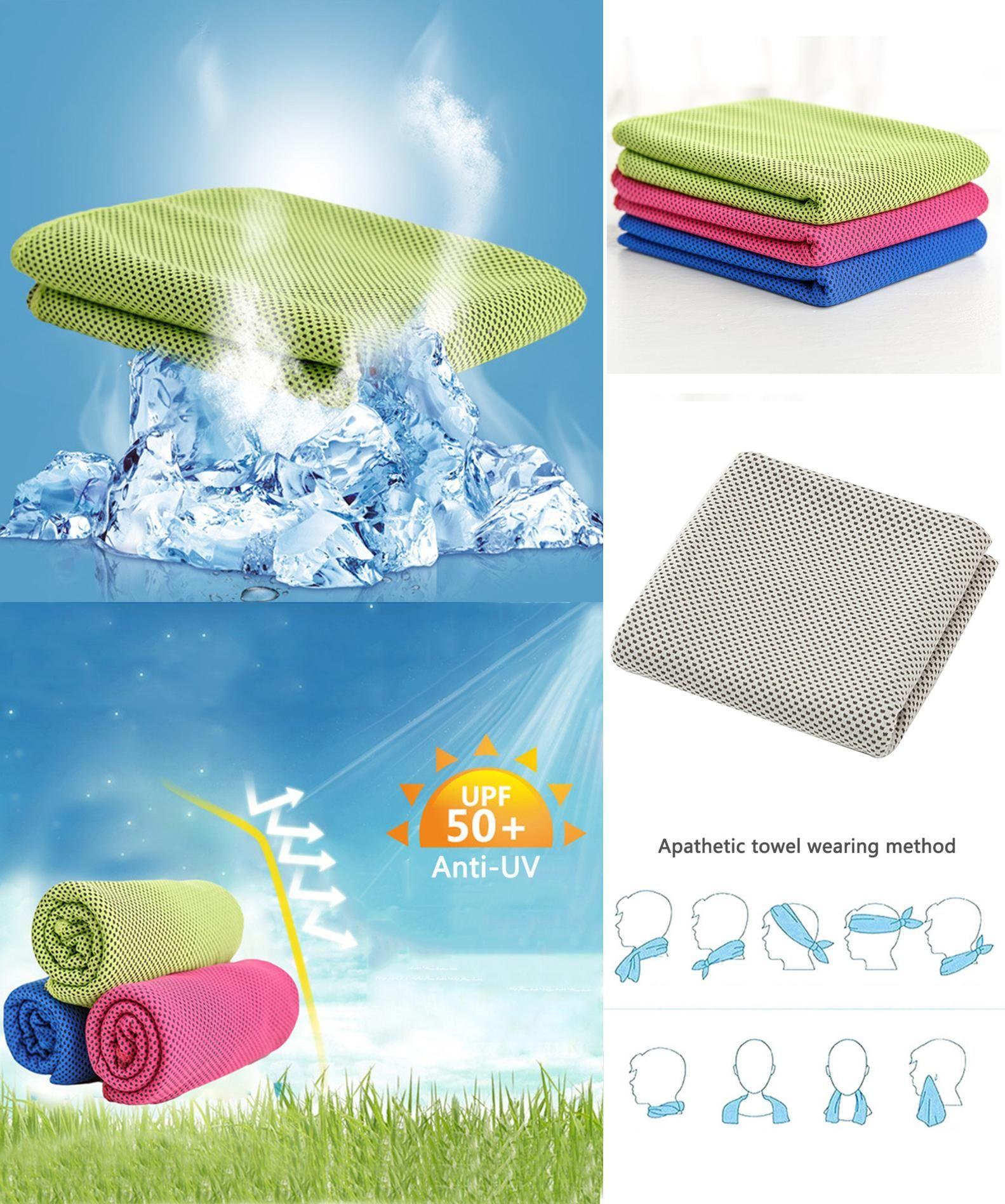 Visit To Buy Polyamide Fiber Sport Cooling Ice Towel Exercise