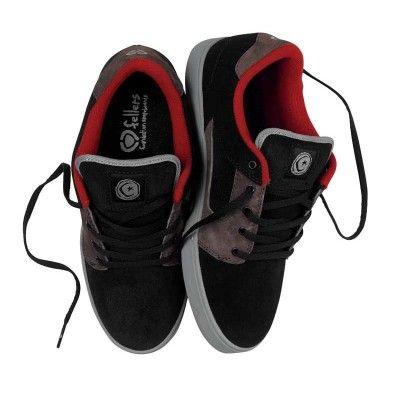 Tênis Circa Men s TALONBGSR Talon Black Gunsmoke Red  Tênis  Circa ... 22669b72dbd