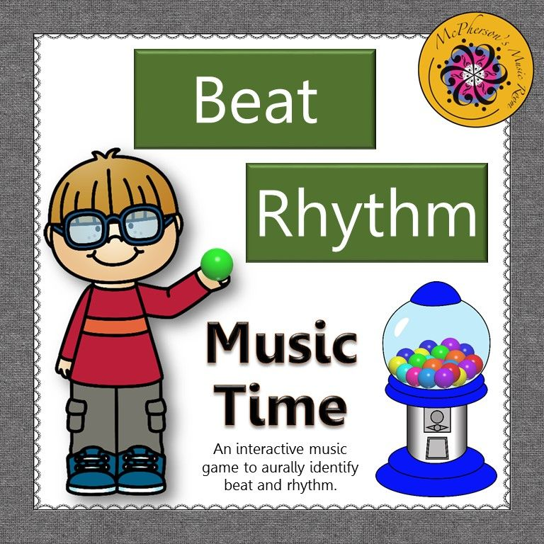 A fun interactive elementary music game that reinforces beat and rhythm. Excellent music education resource!