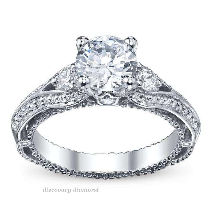 1.50Ct Diamond 14k white  Gold Solitaire Engagement Wedding Ring Certified Ss #DISCOVERDIAMOND #Solitaire #Engagement