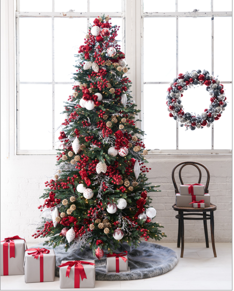 nordic frost christmas tree decorating ideas for 2016 balsam hillpng 9361162