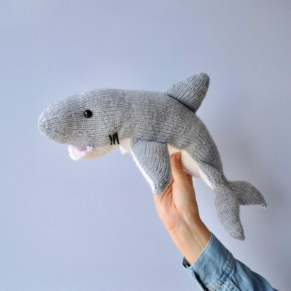 Great White Shark Knitting pattern by Amanda Berry (With ...