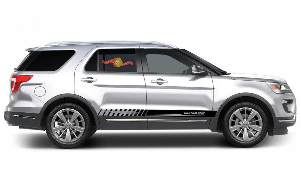 Ford Explorer side decal set