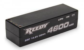 NEW! Reedy 4600mAh 55C 14.8V Competition LiPo Battery!