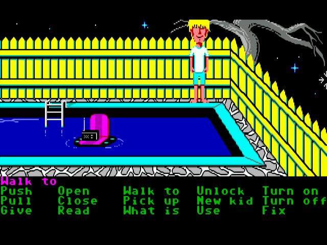Maniac Mansion (Commodore Amiga)