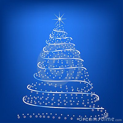 Stylized Christmas Tree Christmas Tree Christmas Stylized