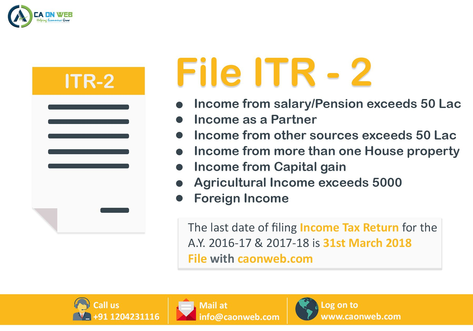 Pin by ca services online on CA ON WEB | Income tax return
