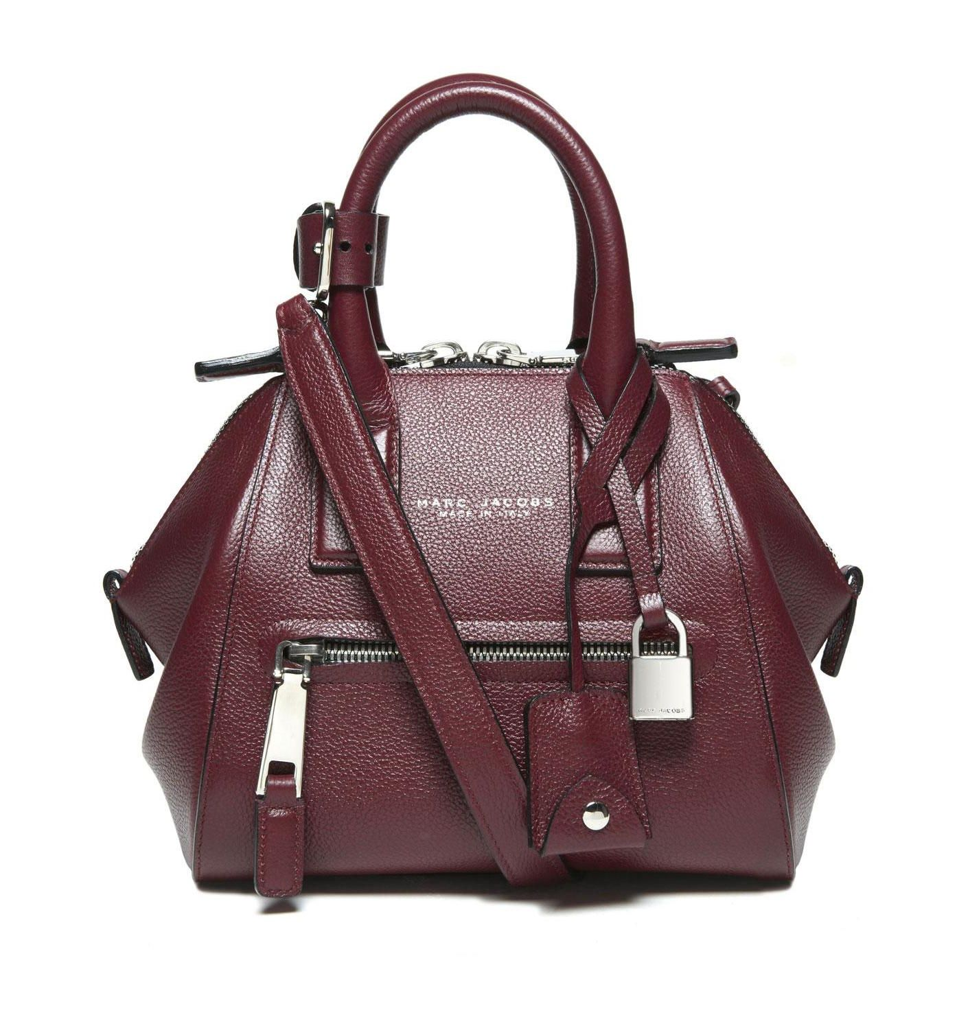 Marc Jacobs Mini Incognito in Aubergine with Nickel  115ca323bac