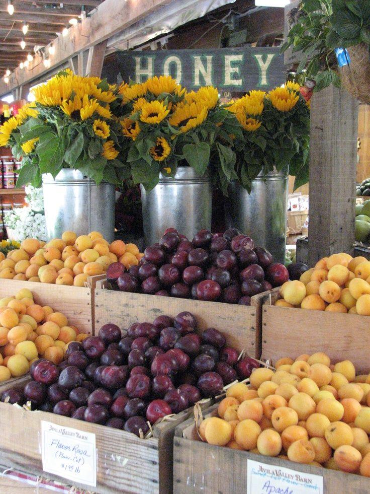 Avila Farm Roadside Market In California Usa