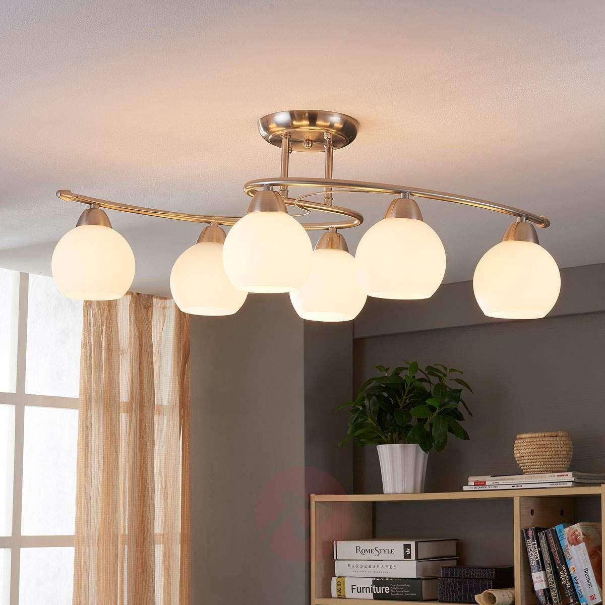 Lampa Sufitowa Do Jadalni Svean 6 Punktowa Lampy Sufitowe