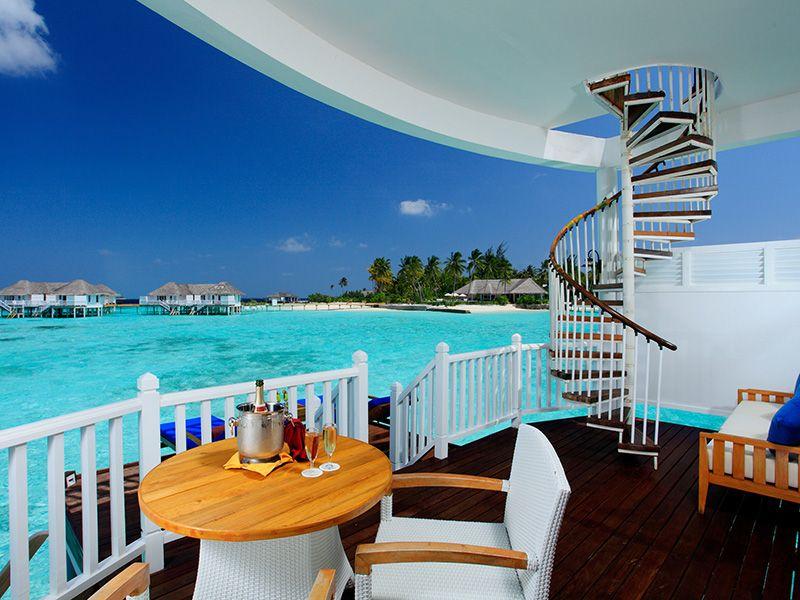 A Dinner At The Centara Resort Maldives Island Resort Overwater Bungalows Resort Spa
