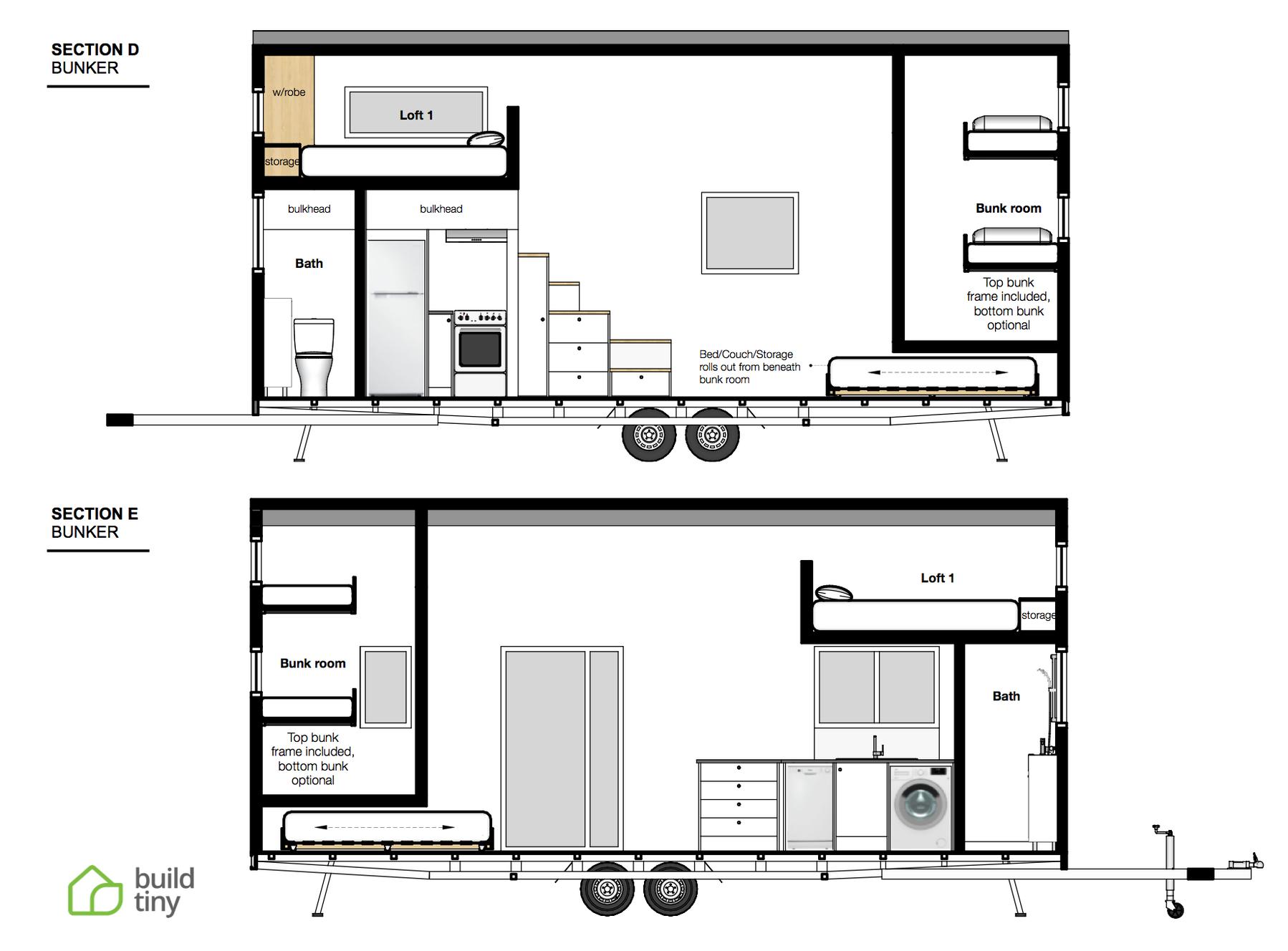The Bunker Tiny House Build Tiny Katikati Nz Tiny House Floor Plans Tiny House Plans House Floor Plans