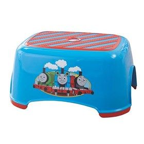Fisher Price Thomas & Friends Trackmaster Stepstool is the only sturdy, non slip stepstool with little one's favorite friend Thomas.