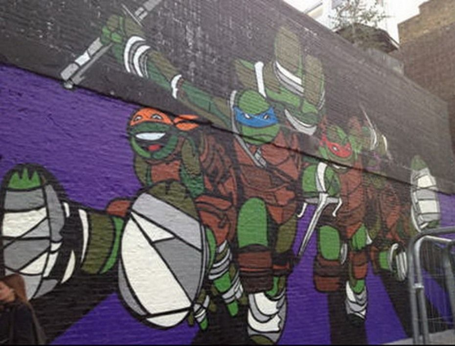 Teenage Mutant Ninja Turtles Bedroom Decorating Ideas in ...