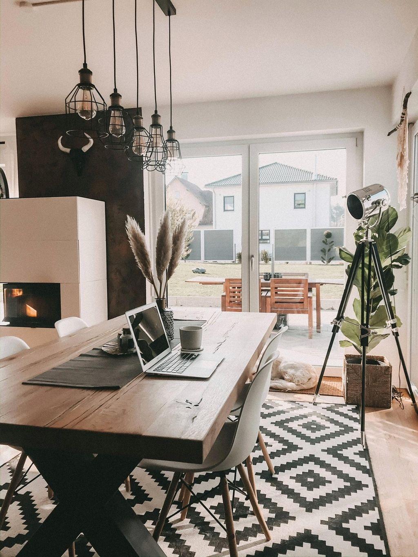 Und Wie Sieht Euer Homeoffice So Aus Home Wohnesszimmer Einrichten Esszimmerdesign Einrichtungsideen Wohnzimmer Modern