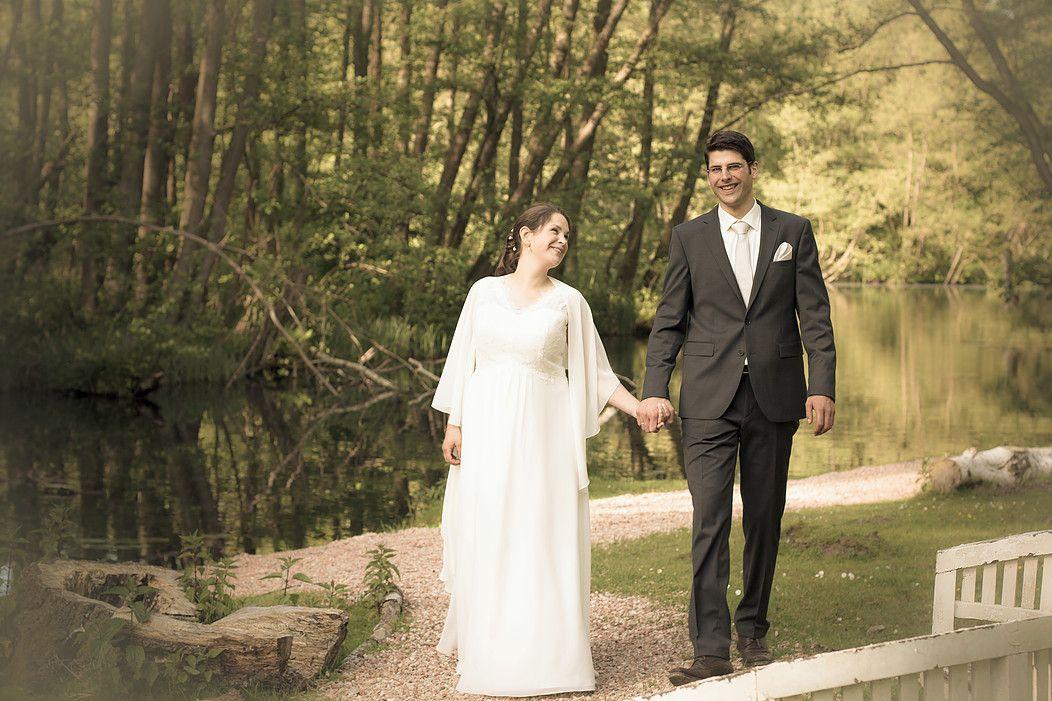 Kerstin & Thomas Sommer Hochzeit an der Wakenitz / Lübeck
