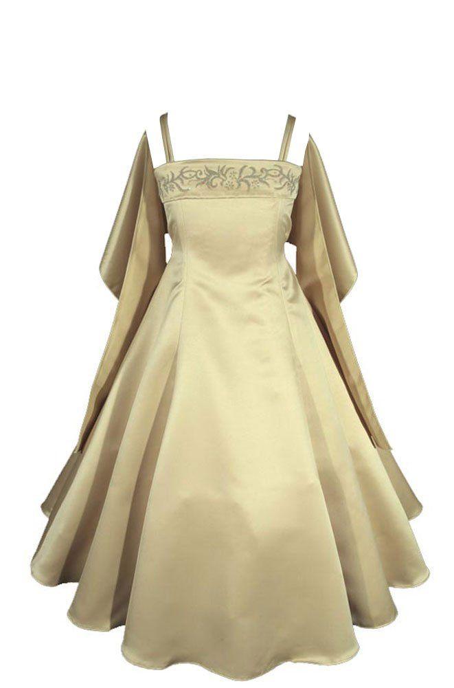 d72578189a636 Amazon.com  AMJ Dresses Inc Big Girls  Wedding Flower Girl Pageant Formal  Dress  Special Occasion Dresses  Clothing