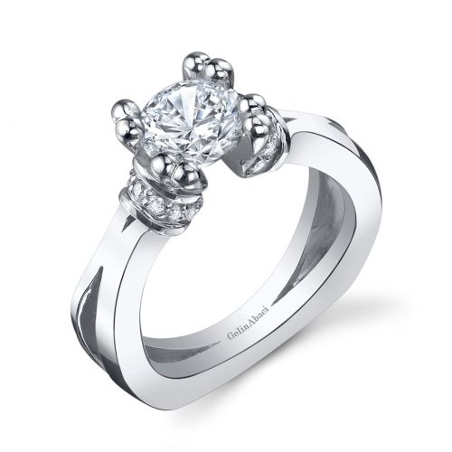 Engagement Rings Kansas City: Gelin Abaci Tension Setting TR-251 @ Jewelry By Morgan In