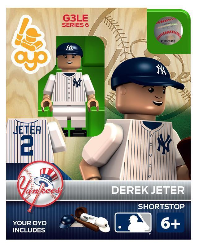 4bf115e8 $12.95 - Derek Jeter Oyo Mini Figure York Yankees Gen 3 Series 6 Factory  Sealed #