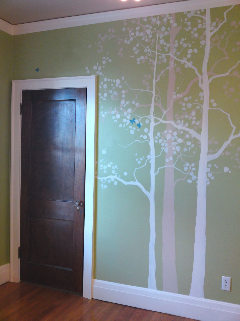 Trees With Closet Door Mural Idea In Denver Co Murals