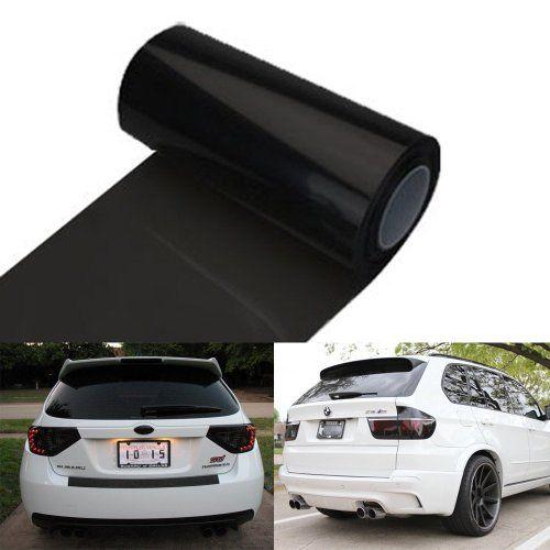 Amazon Com 50 Dark Smoke Black Out Vinyl Headlight Taillight Tints Automotive Tail Light Light Accessories Vehicle Tinting