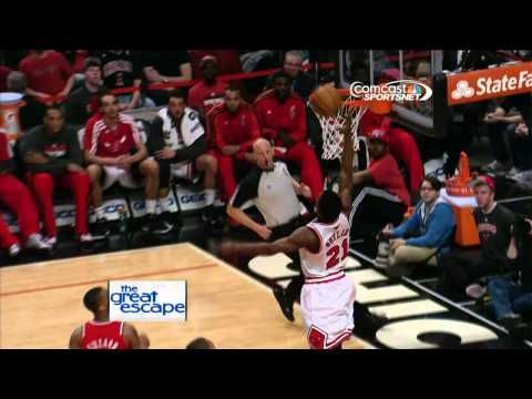 Jimmy Butlers One Handed Alley Oop Dunk Alley Oop Chicago Nfl