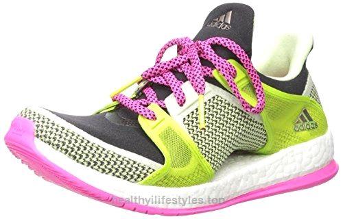 adidas donne è puro slancio x tr w scarpa, black / shock rosa