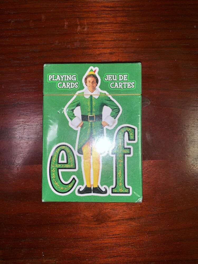 Buddy The Elf Deck Of Playing Cards Will Ferrell Brand New Free Shipping Ebay Playing Card Deck Buddy The Elf The Elf
