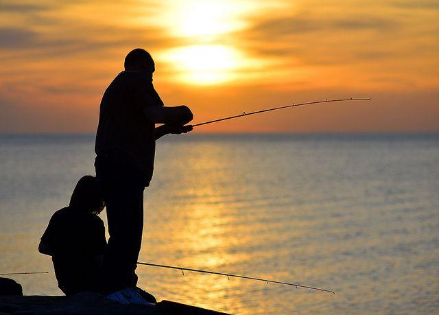 Sunset Fishing With my man. #scentsyhoneymoon