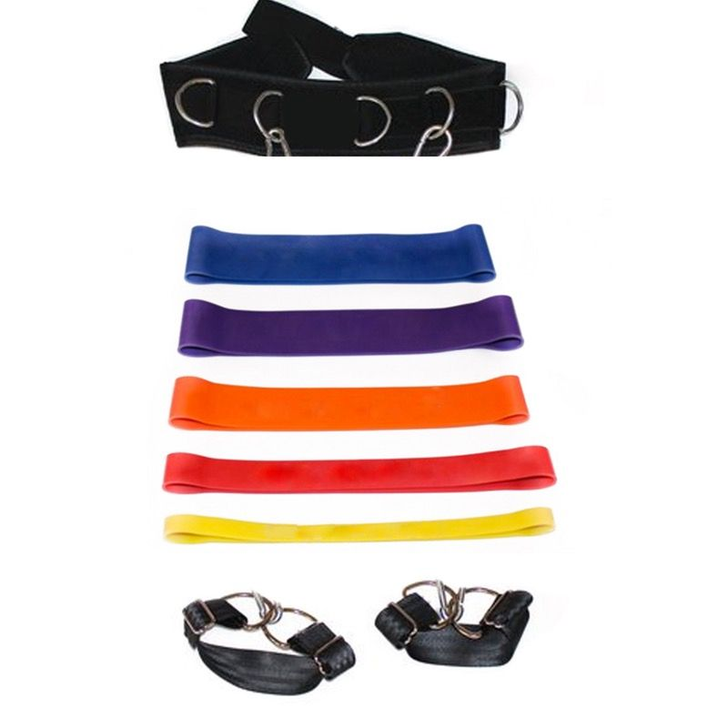 This kit has everything you need to train your legs in it. Just put on the belt and foot harness then attach whichever level resistance band you wa...