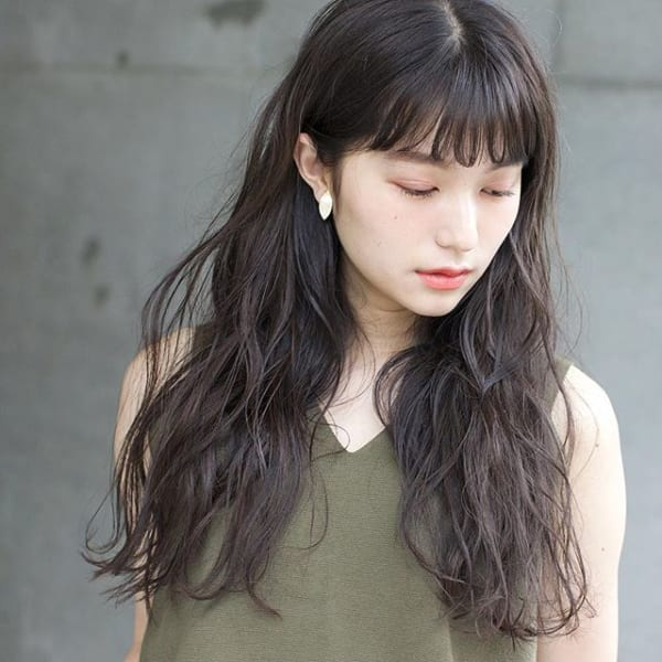ワンレンロング48選 30代40代が挑戦したい大人の魅力たっぷりのヘア