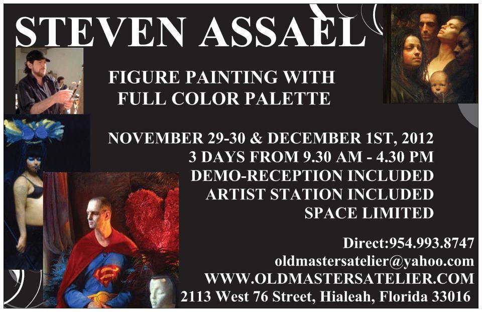 Classical ART Susan Lyon, David Gray and Steven Assael at www.oldmastersartgallery.com