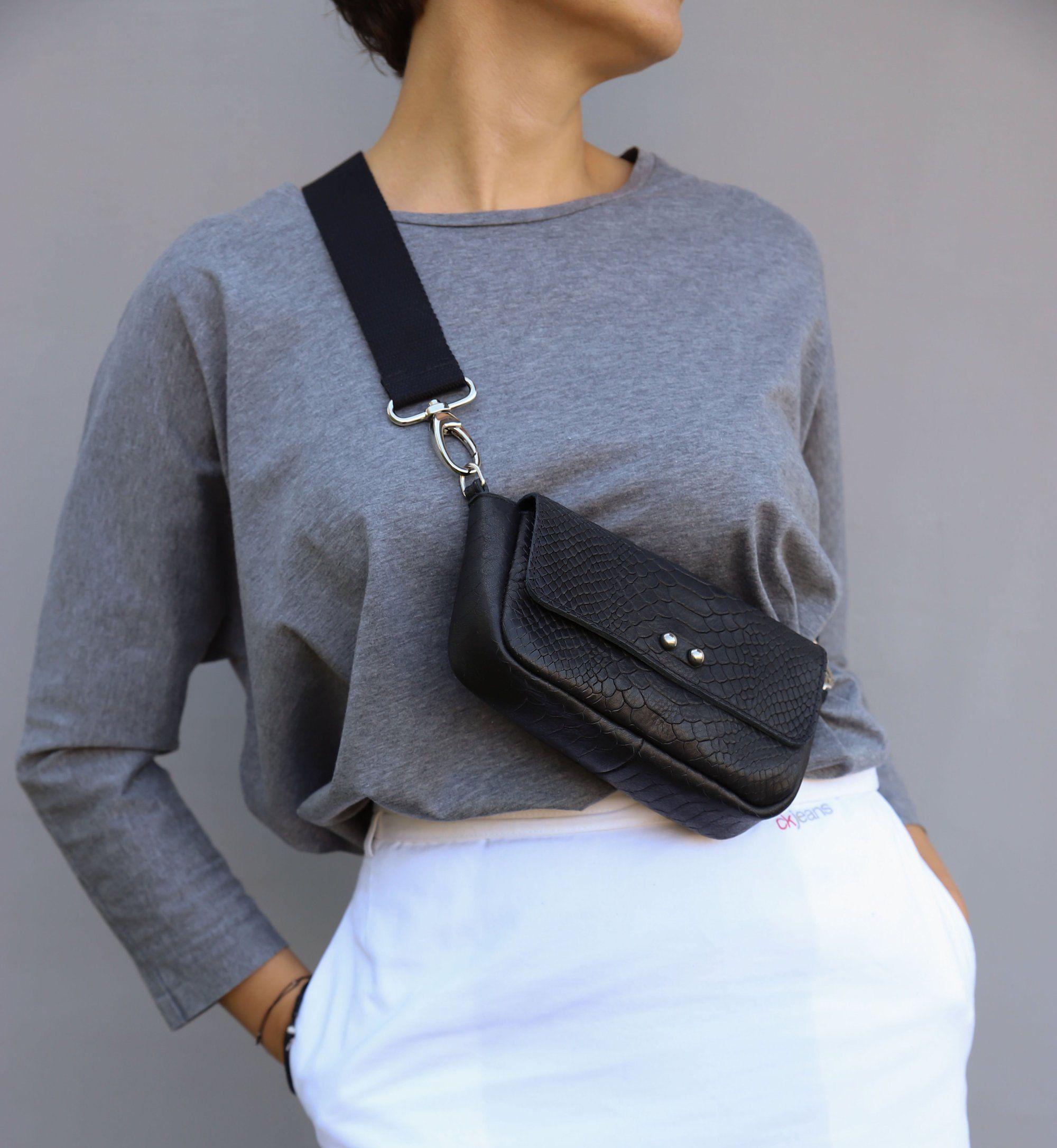 Customizable Convertible Bag 4 ways to wear waist bagshoulder bagcross-body bagwristlet bag-Festival bag-Messenger Bag-Tote Bag-HandBag