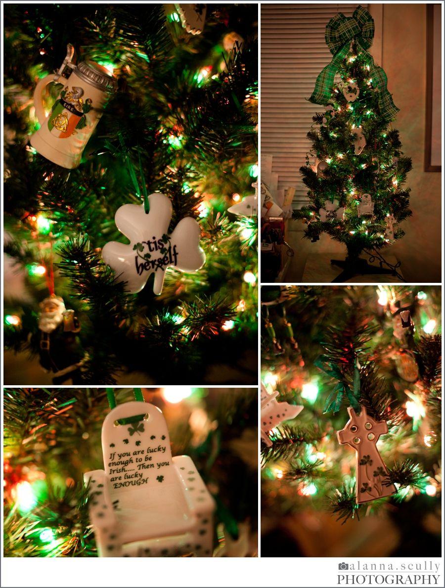 My Irish yearround Christmas tree! Irish christmas