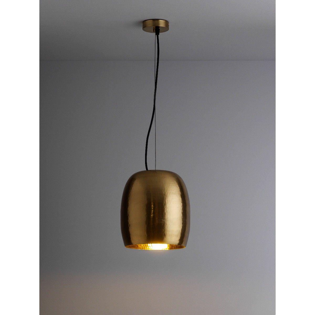 MARTEAU Gold mini metal ceiling light   Buy now at Habitat UK ...