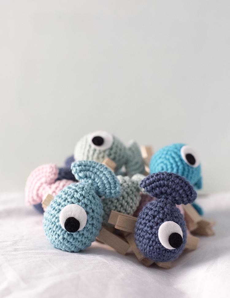 El Gallo Bermejo: Patrón gratis de un pez amigurumi | crochet ...
